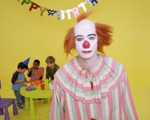 Depressed clown