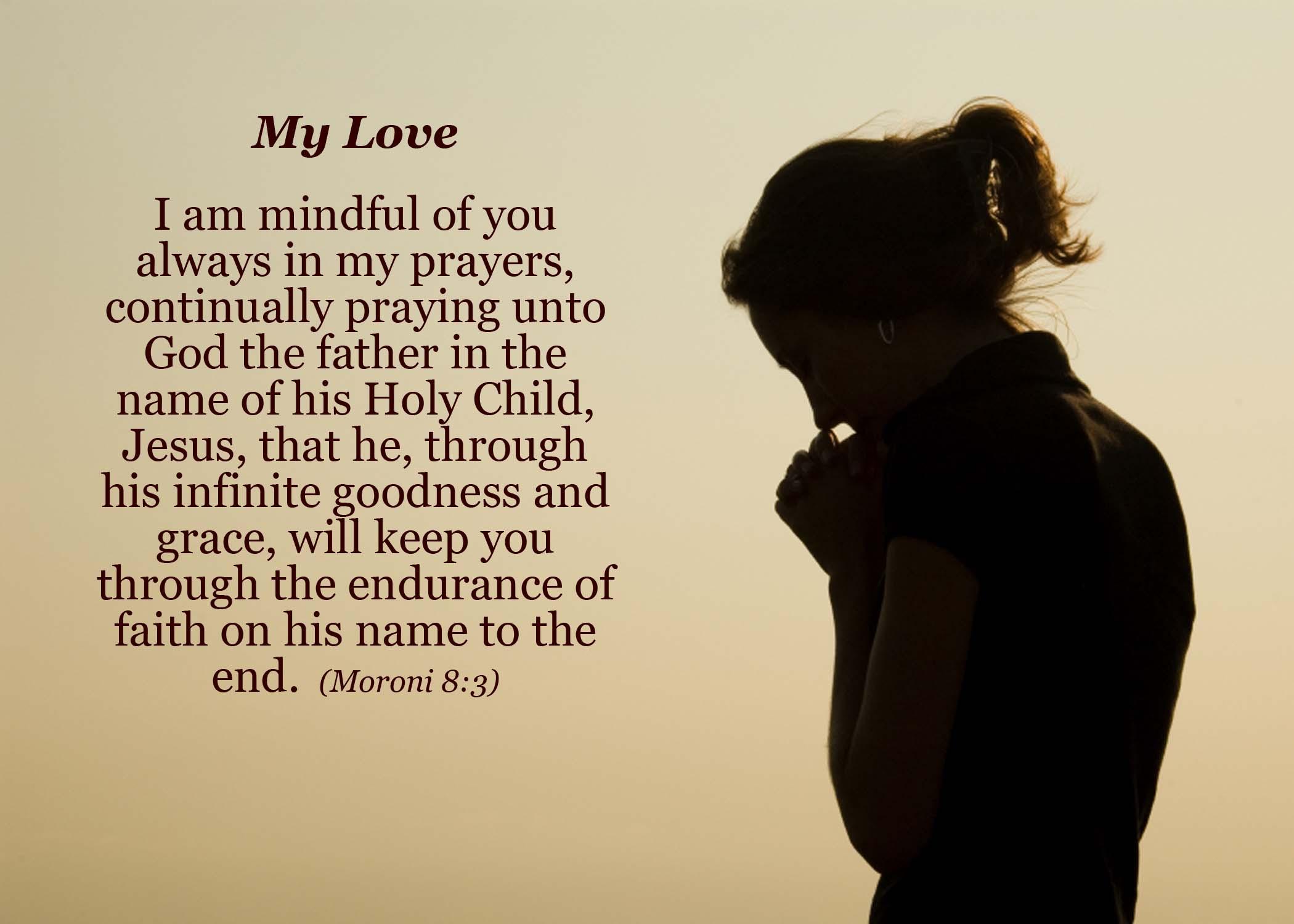 Moronis' Prayer  Love