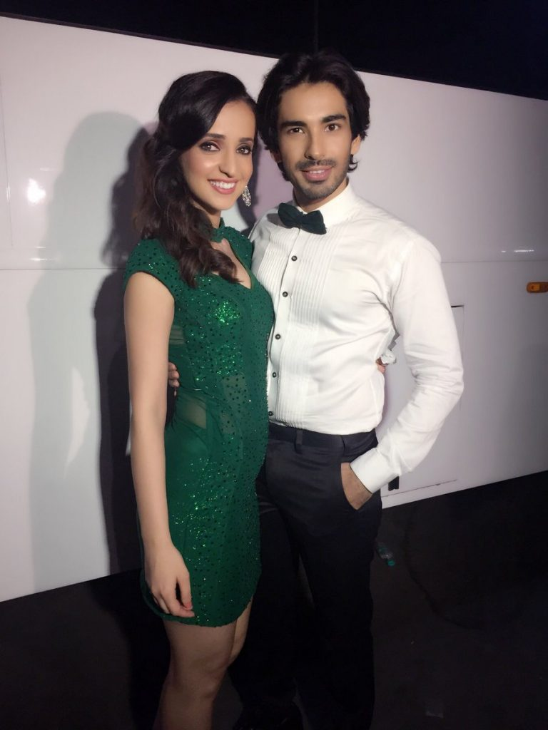 Sanaya with her husband