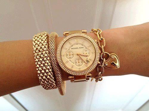 Latest-Fashion-New-Variety-Gold-Watch-Bracelet-Designs-2015-5