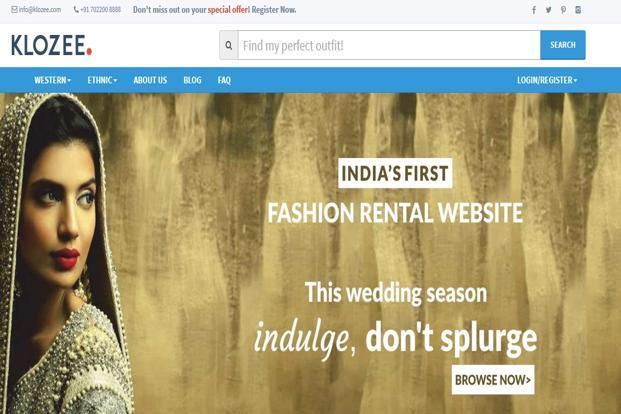 Online clothing rental sites