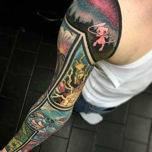 Pokemon Tattoo 12
