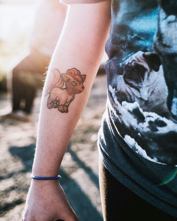Pokemon Tattoo 13