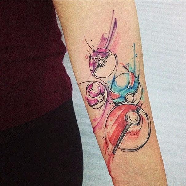 Pokemon Tattoo 17