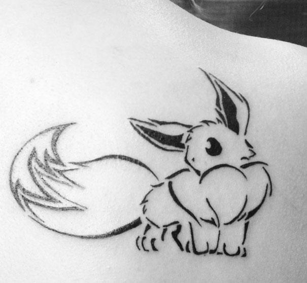Pokemon Tattoo 4