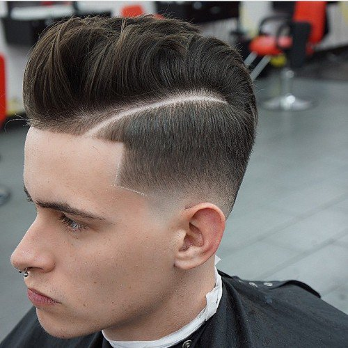 Korean wavy hairstyle for men 2018