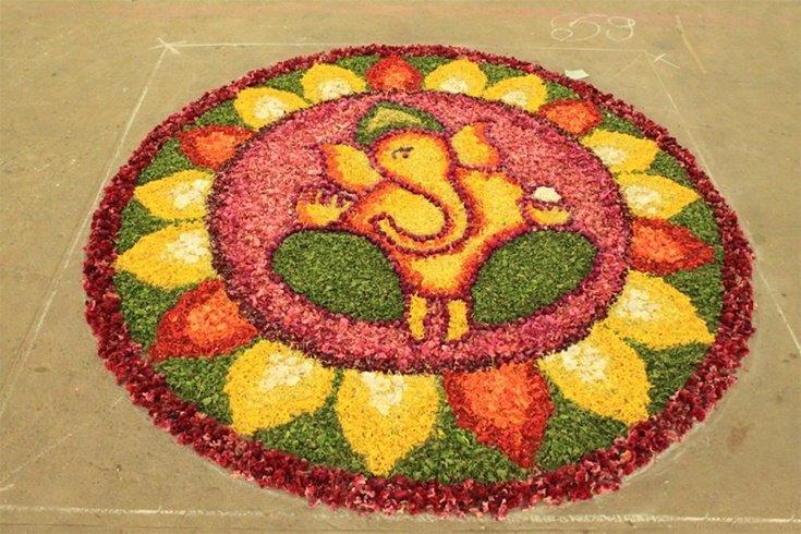 ganesha images for rangoli - photo #36