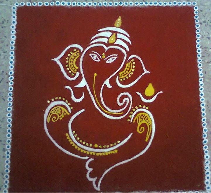 ganesha images for rangoli - photo #20