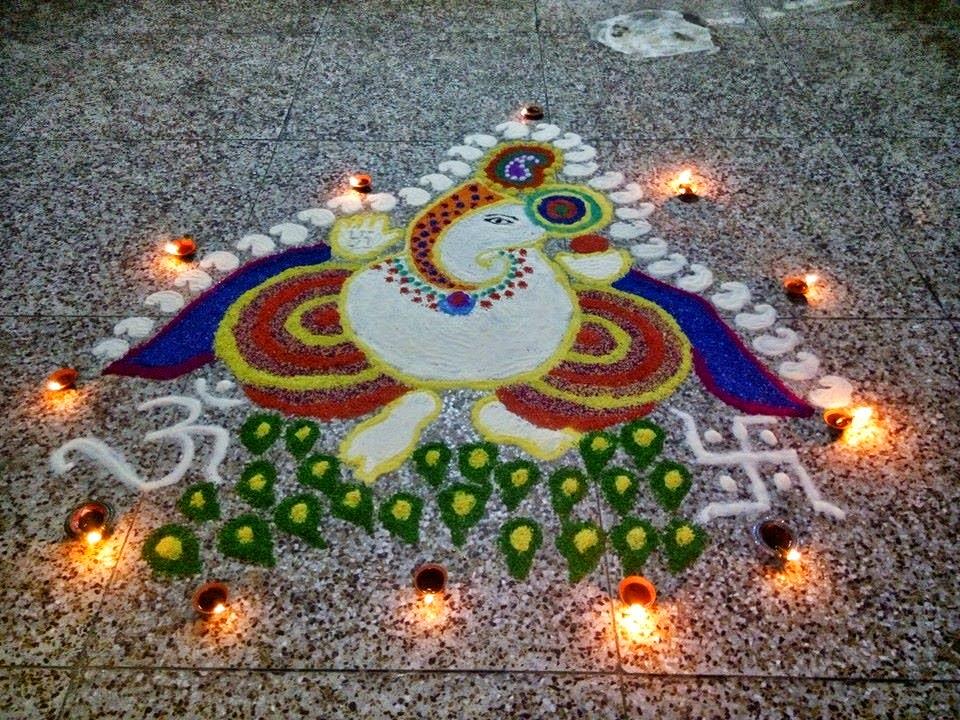 ganesha images for rangoli - photo #27