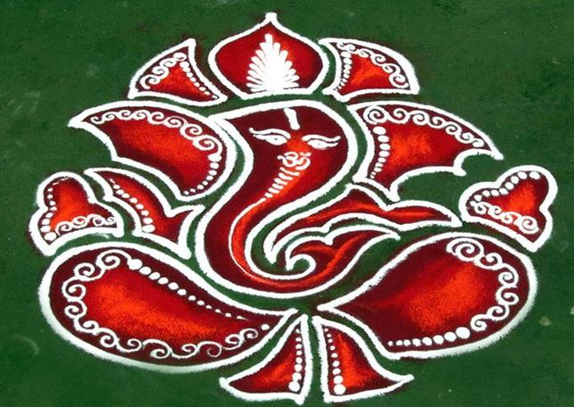ganesha images for rangoli - photo #24