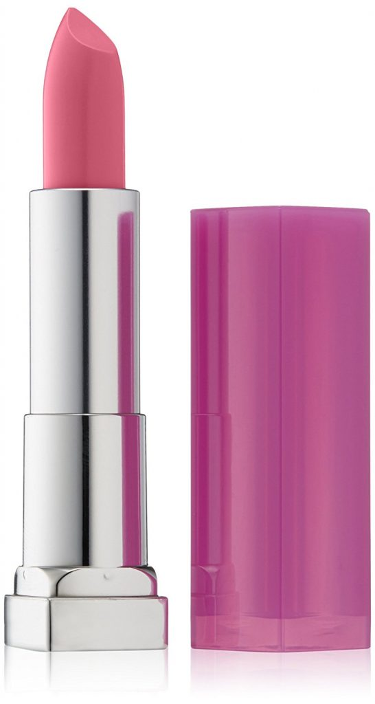 Maybelline New York Color Sensational Rebel Bloom Lipstick, Petal Pink