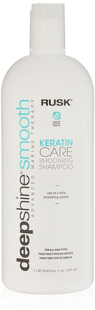 Rusk Deepshine Smooth Keratin Care Smoothing Shampoo