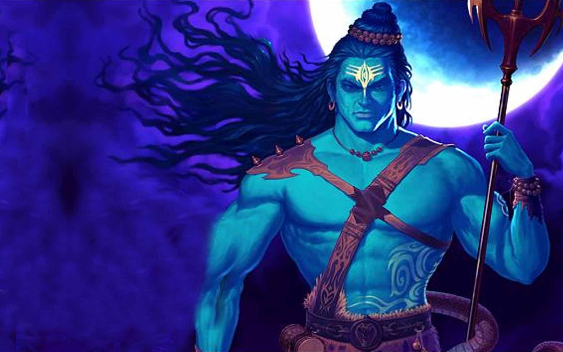 Lord Shiva Big Statue HD Wallpaper,Lord Shiva Tandav HD Wallpaper ...
