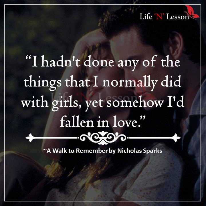 Quotes from A Walk to Remember