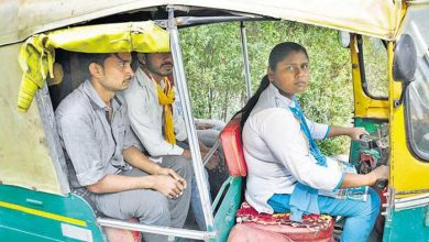 Photo of An Inspiring Story Of Ruby Singhal, The First Female Auto-Rickshaw Driver from Noida