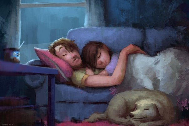 Heartwarming Illustrations About Love and Romance by Zac Retz! 2