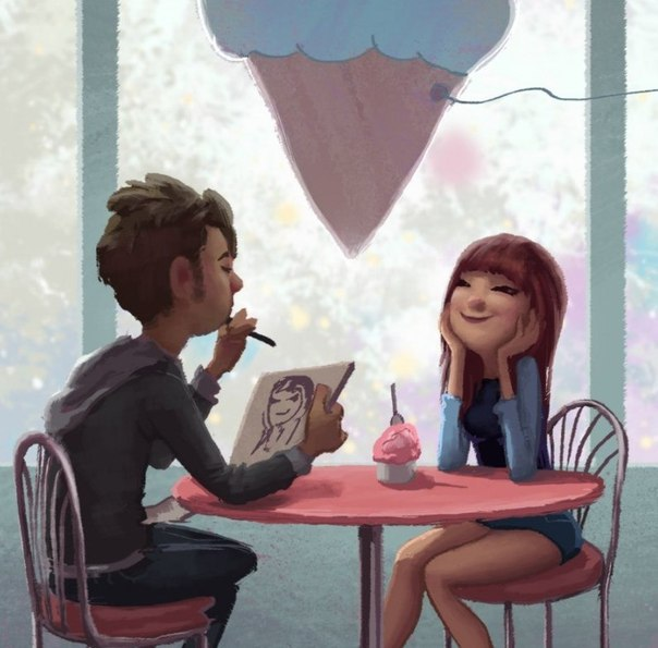Heartwarming Illustrations About Love and Romance by Zac Retz!8