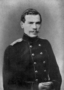 Leo Tolstoy 1856