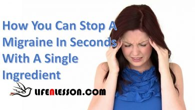 Photo of How You Can Stop A Migraine In Seconds With A Single  Ingredient