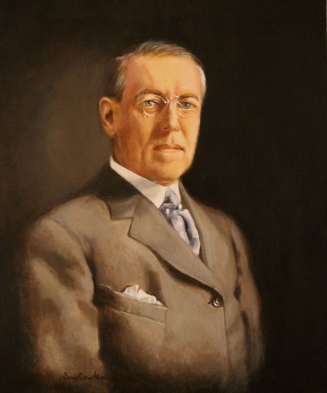 woodrow wilson 1 Woodrow wilson's second term and the first world war wilson ran unopposed in the democratic primaries for the 1916 presidential election, on a platform emphasizing progressive goals such as.