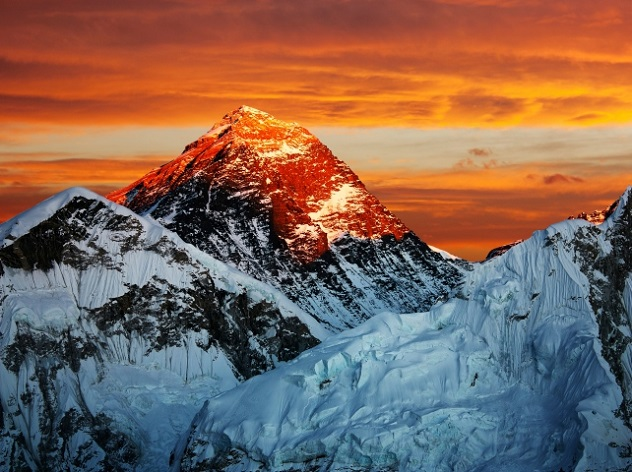 Everest from Kala Patthar - Nepal