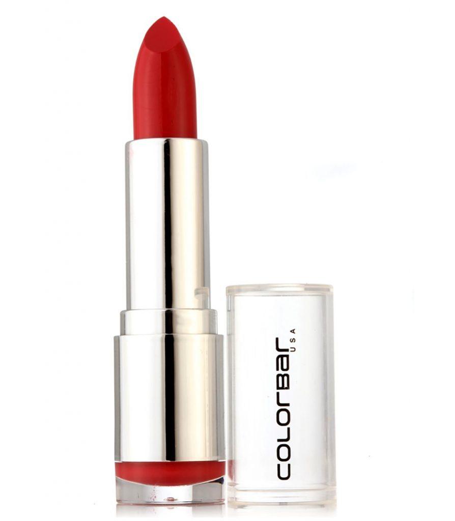 Colorbar Velvet Matte Lipstick, Peach Crush