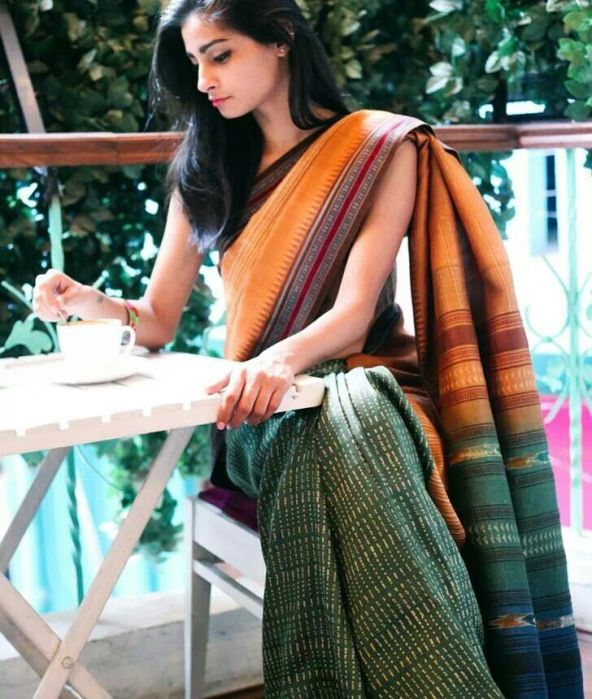 cotton saree for office