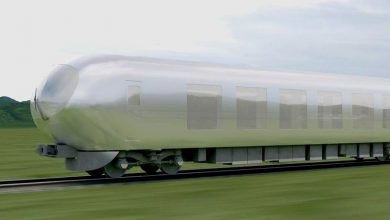 "Photo of One of Japan's top architects is working on an ""invisible"" train"