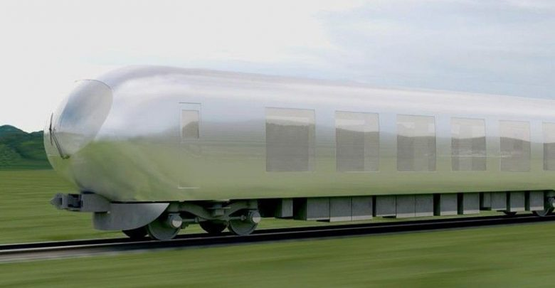 """Photo of One of Japan's top architects is working on an """"invisible"""" train"""