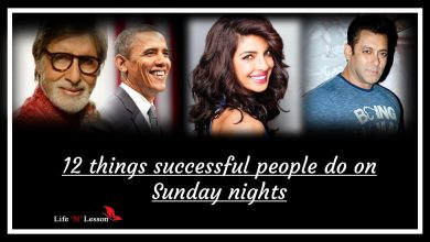 Photo of 12 things successful people do on Sunday nights
