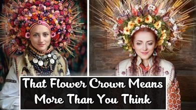 Photo of That Flower Crown Means A Sign Of Purity In Ukraine-  Giving a New Meaning To Ancient Tradition