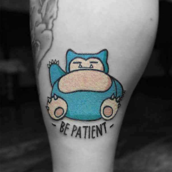 Pokemon Tattoo 10