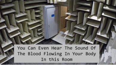 Photo of This Is The World's Quietest Room, Where You Can Even Hear The Sound Of The Blood Flowing In Your Body