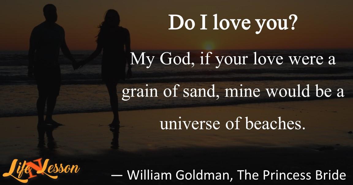 — William Goldman, The Princess Bride