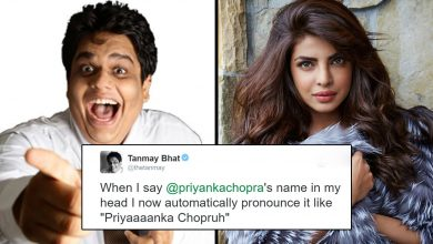 Photo of Tanmay Bhatt Gets A Wittier Reply From Priyanka Chopra When He Tried To Take A Dig On Her