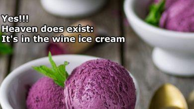 Photo of Wine Ice Cream Exists & It Sounds Amazing