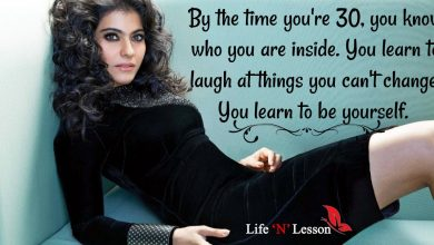 Photo of 11 Quotes By Kajol The Queen Of Romance That will Make You Respect Her More!