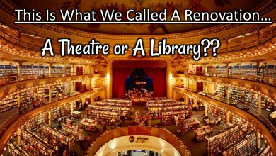 Photo of A 100 yrs Old Theatre Converted into A Library… And It's Outstanding
