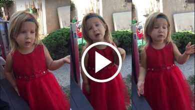 Photo of 'You do not understand!' Little girl adorably explains wedding etiquette to dad