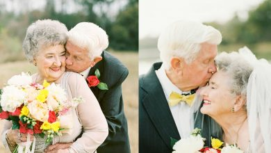 Photo of Grandparents Have The Sweetest Photoshoot To Celebrate 63 Years Of Being In Love