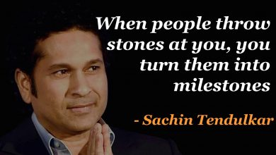 Photo of 10 Life Quotes That I learned from Legendary Sachin Tendulkar
