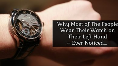 Photo of People Wear Watch on Their Left Hand For The Very Obvious Reason You Didn't Ever Noticed…