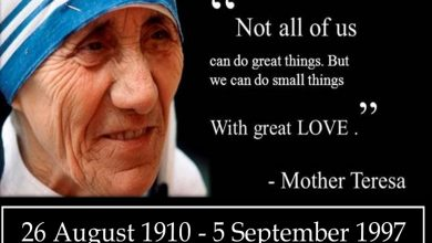 Photo of 9 of Mother Teresa's Most Inspiring Quotes That Will Change the Way You Live
