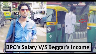 Photo of This BPO Employee Posed As A Beggar To See How Much They Earn In A Day. You'll Be Surprised