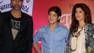 Photo of Twinkle Khanna Might Be Mrs Funny Bones But Her Son Aarav Is Two Steps Ahead Of Her!