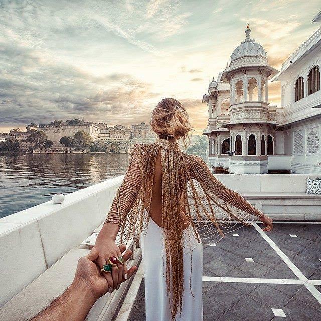 Murad Osmann India Follow me to