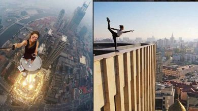 Photo of This Girl Is Risking Her Life For Some Of The Most Daring And Beautiful Selfies Ever