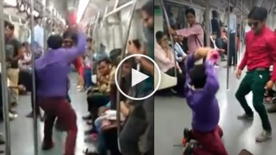 Photo of Two Boys Dancing to Cheap Thrills On The Metro Like There's No Tomorrow
