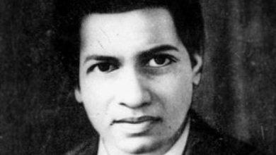 Photo of Srinivasa Ramanujan :  Indian mathematician