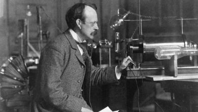 Photo of J.J. Thomsan : Discovery of Electron